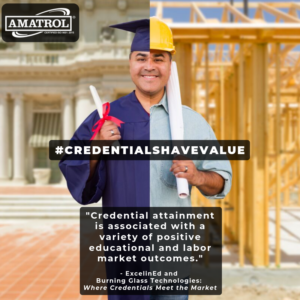 Burning Glass Study Article | Certifications Matter | Credentials Have Value Infographic