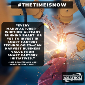 Deloitte/MAPI Smart Factory Study Infographic | The Time Is Now