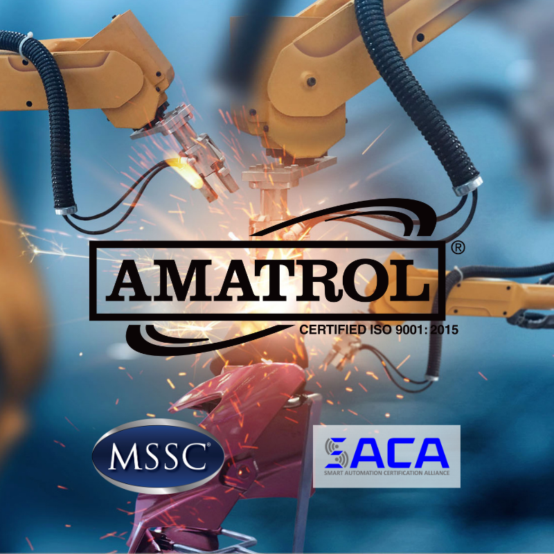 NAM Survey - Amatrol Partnerships with MSSC, NIMS, & SACA Infographic