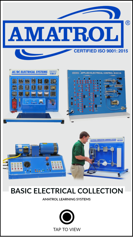 Basic Electrical Training Program Amatrol Products