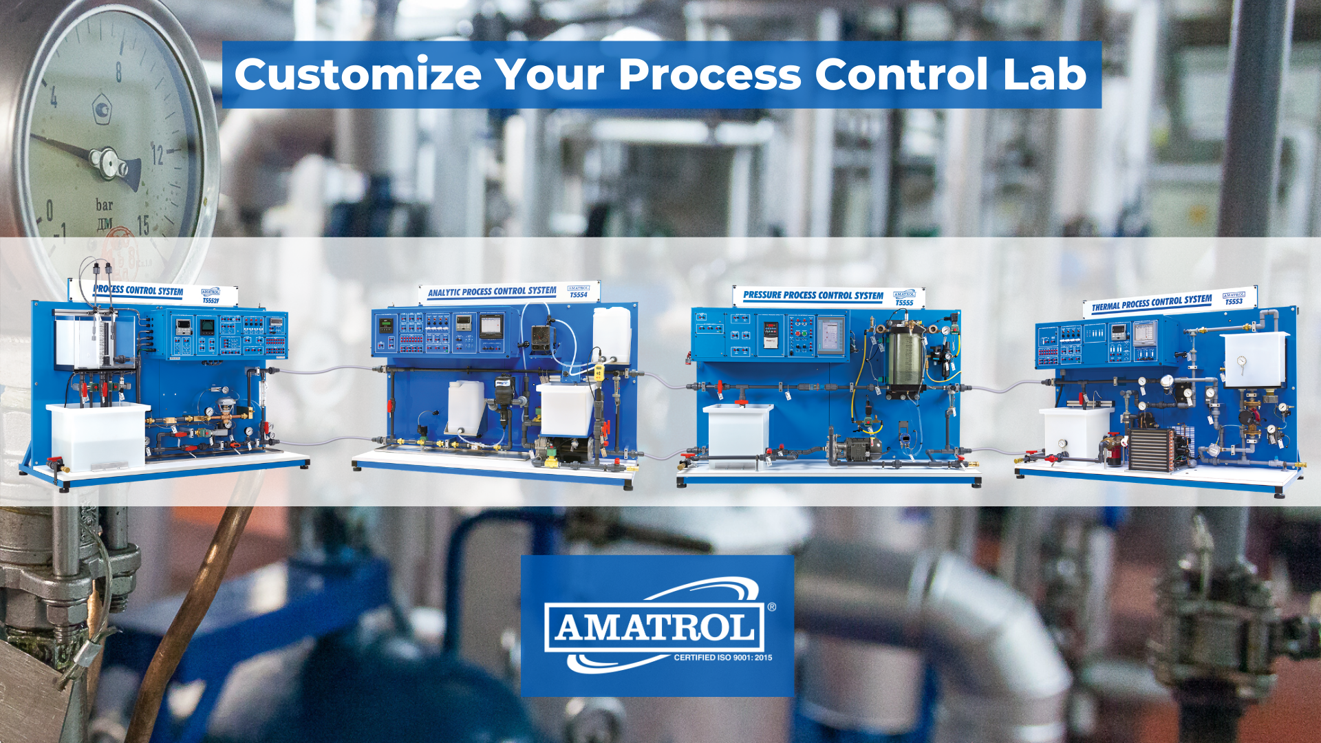 Amatrol Process Control Training Systems
