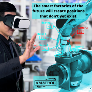 The smart factories of the future will create positions that don't yet exist - Amatrol infographic