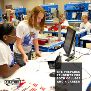 Career and Technical Education - Amatrol - A Parent's Guide to CTE - CTE Prepares Students for College and a Career