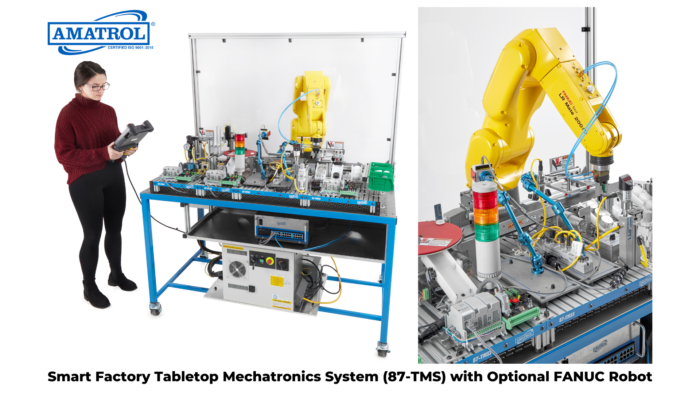 Smart Factory High School Training - Tabletop Smart Factory with Optional FANUC Robot