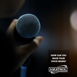 Amatrol How Can You Make Your Voice Heard