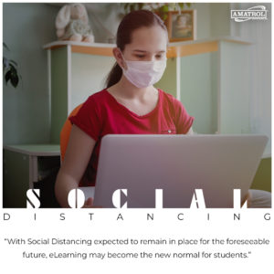 social distancing flash elearning