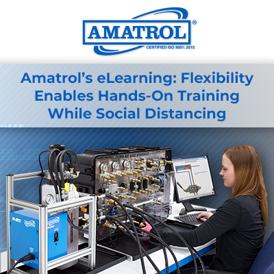 Amatrol's eLearning: Flexibility Enables Hands-On Training While Social Distancing