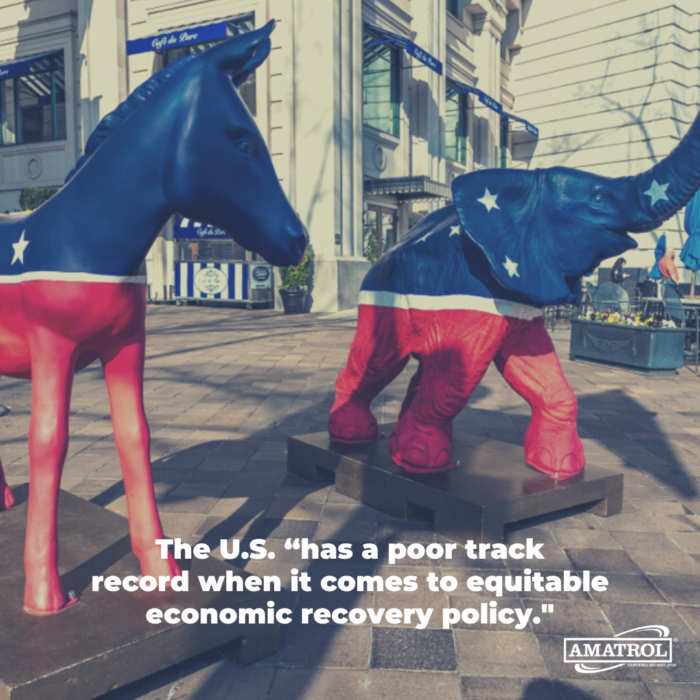 The U.S. has a poor track record when it comes to equitable economic recovery policy.
