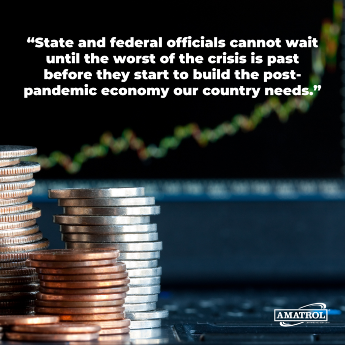 State and federal officials cannot wait until the worst of the crisis is past before they start to build the post-pandemic economy our country needs.