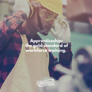Apprenticeship is the gold standard of workforce training