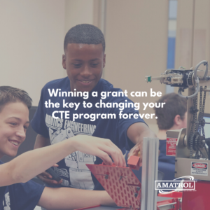 CTE Funding - Winning a grant can be the key to changing your CTE program forever.