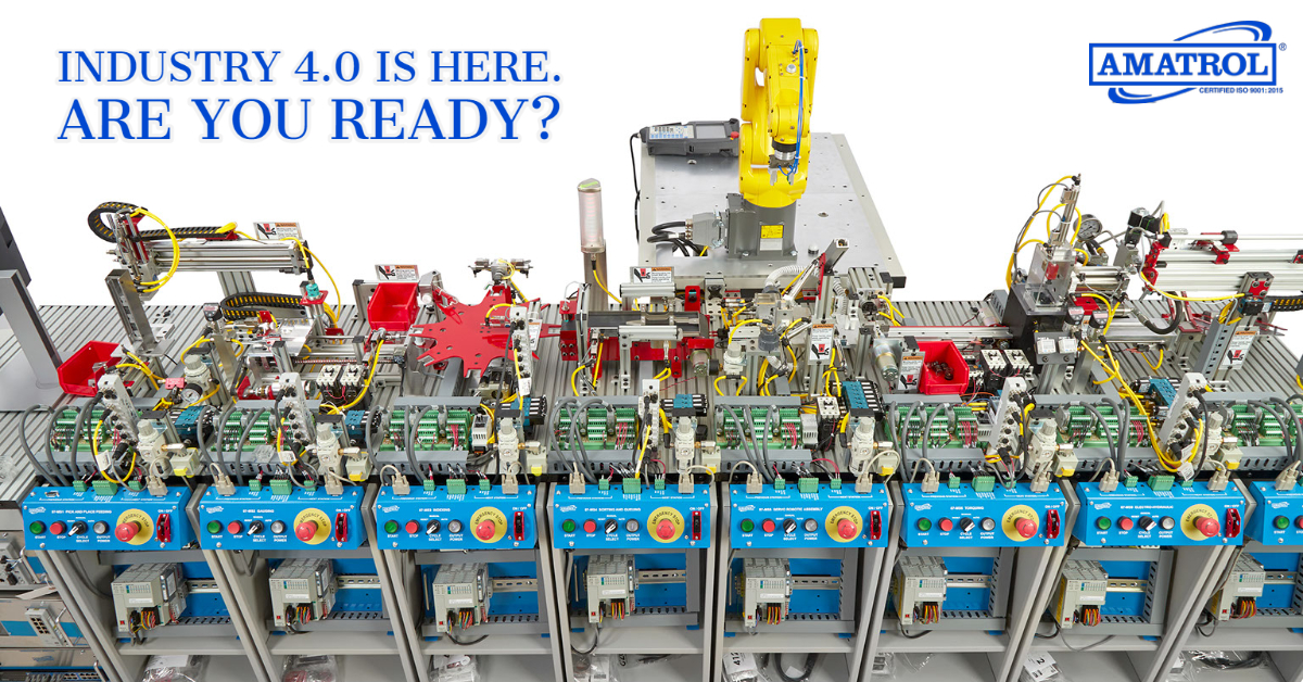 Smart Factory Industry 4.0 is Here