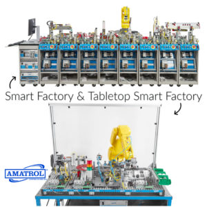 Smart Factory & Tabletop Smart Factory Training Systems