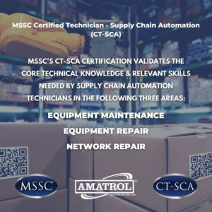 MSSC Certified Technician-Supply Chain Automation (CT-SCA) Certification